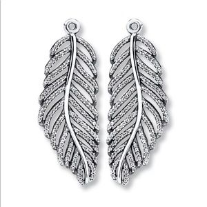 7d5fbea6d Pandora Other | Light As A Feather Earrings | Poshmark